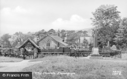 Llanegryn, The Church c.1950