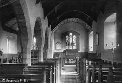 Church Interior 1890, Llaneilian