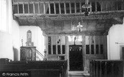 Church Interior c.1950, Llaneilian