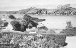 Porth Eilian, Eilian Bay c.1960, Llaneilian
