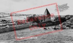 St Eilian's Church c.1960, Llaneilian