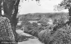 The Road To Eilian Bay c.1950, Llaneilian