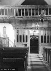 The Screen, St Eilian Church c.1950, Llaneilian