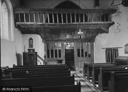 The Screen, St Eilian's Church c.1950, Llaneilian
