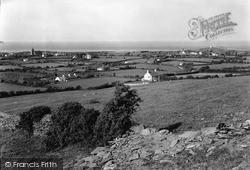View From Eilian Mountain c.1950, Llaneilian