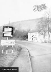 Llanellen, The Village c.1960