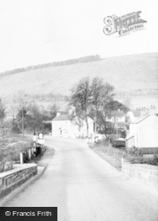 Llanellen, The Village c.1960