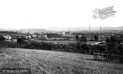 Llanelli, From The Dell 1896