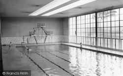 Llanelli, Jubilee Pool c.1965