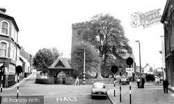 Llanelli, St Elli Church c.1965