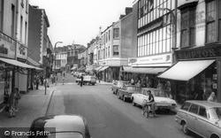 Llanelli, Stepney Street c.1965