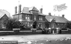 Llanelli, The Hospital 1896