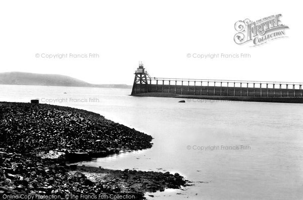 Llanelli, the Pier 1896