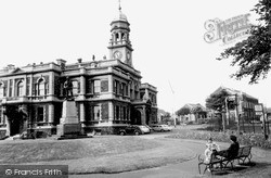 Llanelli, The Town Hall c.1955