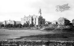 Llanelli, Town Hall 1896