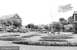 Llanelli, Town Hall Gardens c.1955