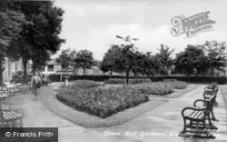 Town Hall Gardens c.1955, Llanelli