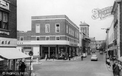 Llanelli, Vaughan Street c.1965