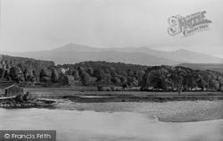 Llanelltyd, Cader Idris From The Bridge 1895