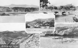 Llanelltyd, Composite c.1960