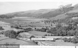 Llanelltyd, Mawddach Estuary And Vanner Farm c.1960