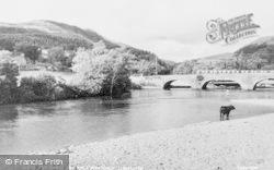 Llanelltyd, The Bridge And River Mawddach c.1960