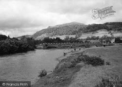 Llanelltyd, The Bridges Over The River Mawddach c.1955