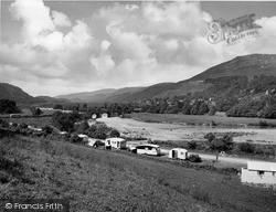Llanelltyd, The River Mawddach And Bridge c.1955