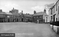 Market Square c.1955, Llanerchymedd