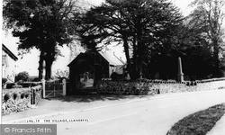 St Erfyl's Church c.1955, Llanerfyl
