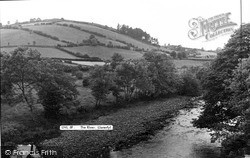 Llanerfyl, The River Banwy c.1955