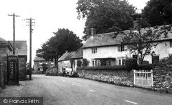 Llanerfyl, The Village c.1955