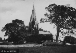 Llanfaes, The Church 1890