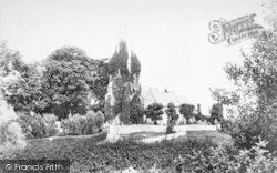 Llanfaes, The Church 1897