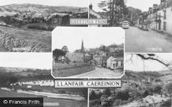 Llanfair Caereinion, Composite c.1960