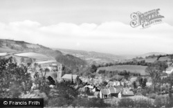 Llanfair Caereinion, From Mount Road c.1950