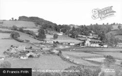 Llanfair Caereinion, General View c.1955