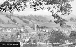 Llanfair Caereinion, General View c.1960
