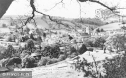 Llanfair Caereinion, General View c.1960
