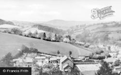 Llanfair Caereinion, Looking West c.1950