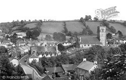 Llanfair Caereinion, The View From Neaudd Lane c.1955