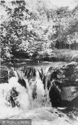 Llanfair Clydogau, River Clywedog c.1955