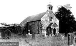 Llanfair Clydogau, St Mary's Church c.1955