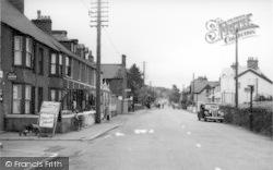 Holyhead Road c.1950, Llanfair Pwllgwyngyll