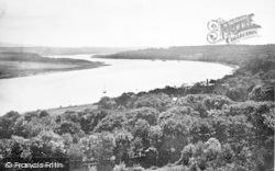 Plas Newydd And The Menai Straits 1890, Llanfair Pwllgwyngyll
