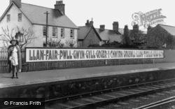 Railway Station c.1940, Llanfair Pwllgwyngyll