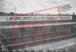 Station Sign 1937, Llanfair Pwllgwyngyll