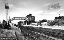The Railway Station c.1965, Llanfair Pwllgwyngyll