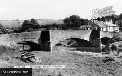 Llanfair Talhaiarn, The Bridge c.1955