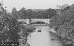 Llanfair Talhaiarn, View From Elwy Bridge c.1950